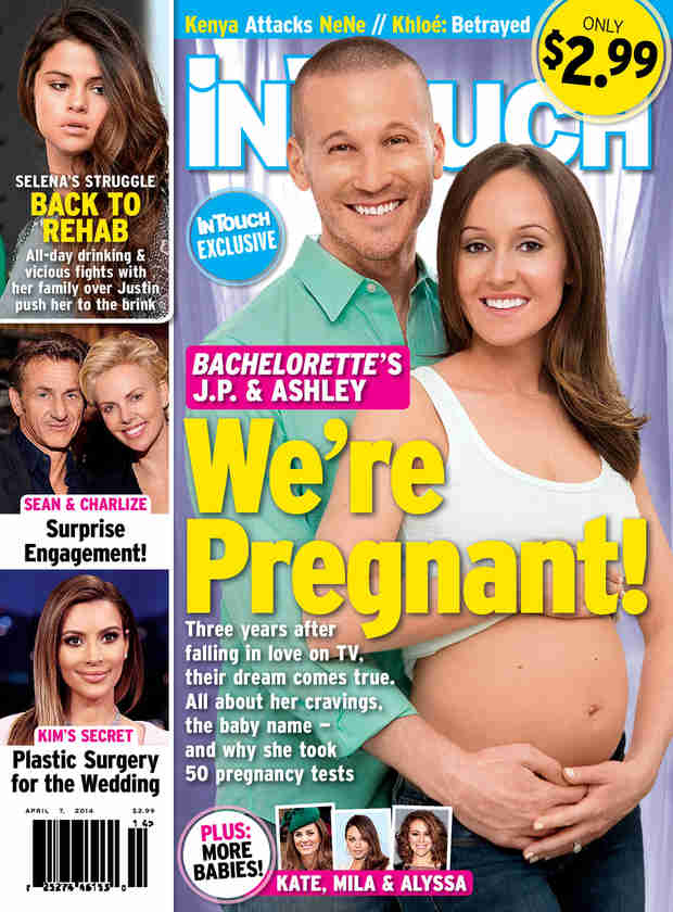 The Bachelorette's Ashley Hebert and J.P. Rosenbaum Are Pregnant!