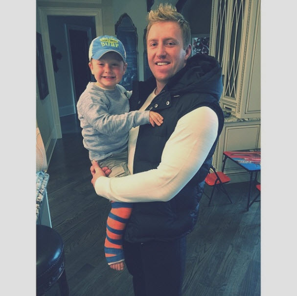 Oh No! Kim Zolciak Reveals That Two-Year-Old KJ Broke His Leg! (PHOTO)