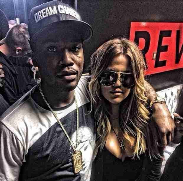 Khloe Kardashian Schools Racists After Selfies With Rick Ross, Meek Mill