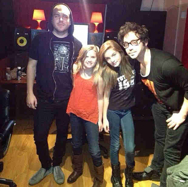 The Walking Dead's Brighton Sharbino and Kyla Kenedy Release a Song Together!
