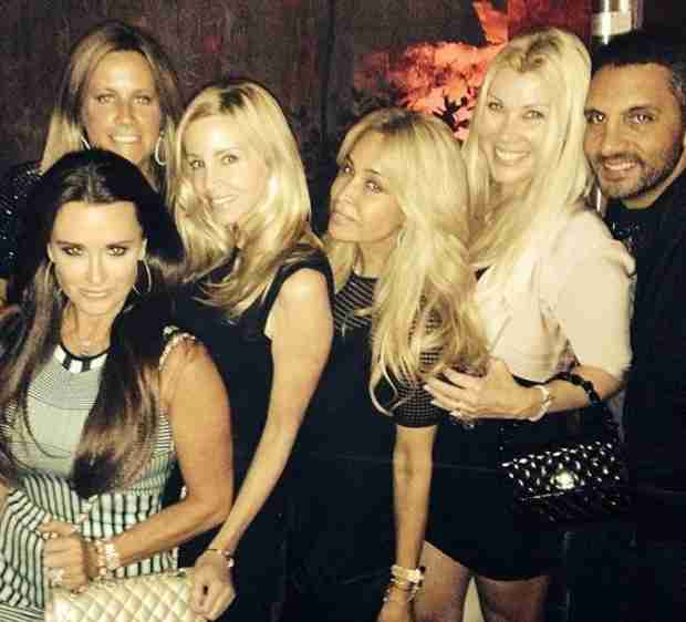 Kyle Richards Parties in Las Vegas With Camille Grammer and Faye Resnick (PHOTO)