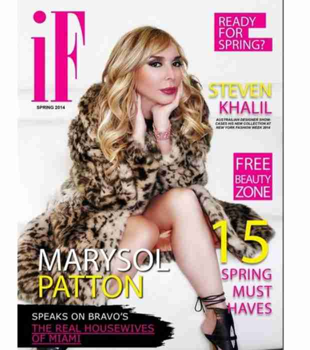 Marysol Patton Goes Glam on I Fathom Magazine's Cover (PHOTO)