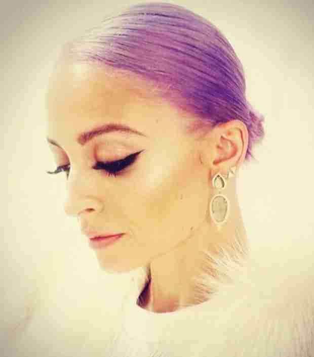 Nicole Richie Dyes Her Hair Purple — What Do You Think? (PHOTO)