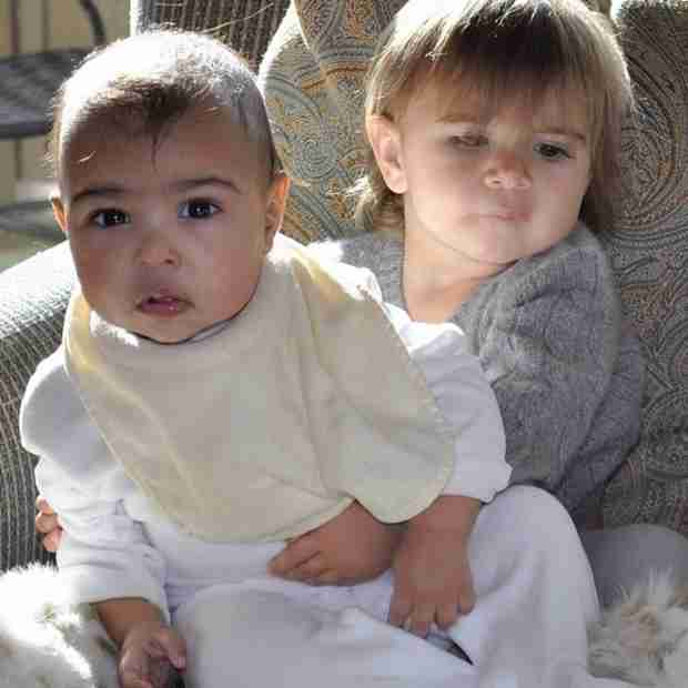 Kim Kardashian: North West Wears Penelope Disick's Hand-Me-Downs!