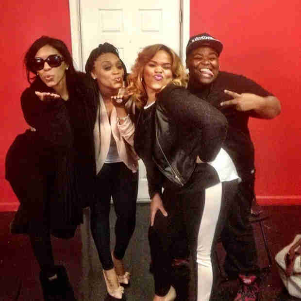 "Porsha Stewart Rehearses For Her First Performance of ""Flatline""! (PHOTO)"