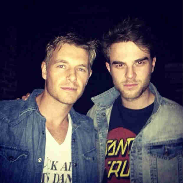 "The Vampire Diaries: Dr. Wes and Kol ""Conspire"" Together (PHOTO)"