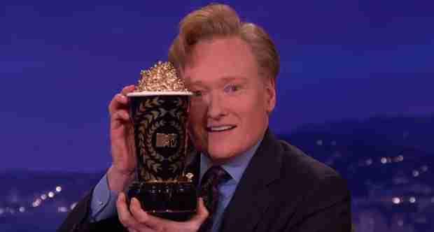 Conan O'Brien To Host the 2014 MTV Movie Awards (VIDEO)