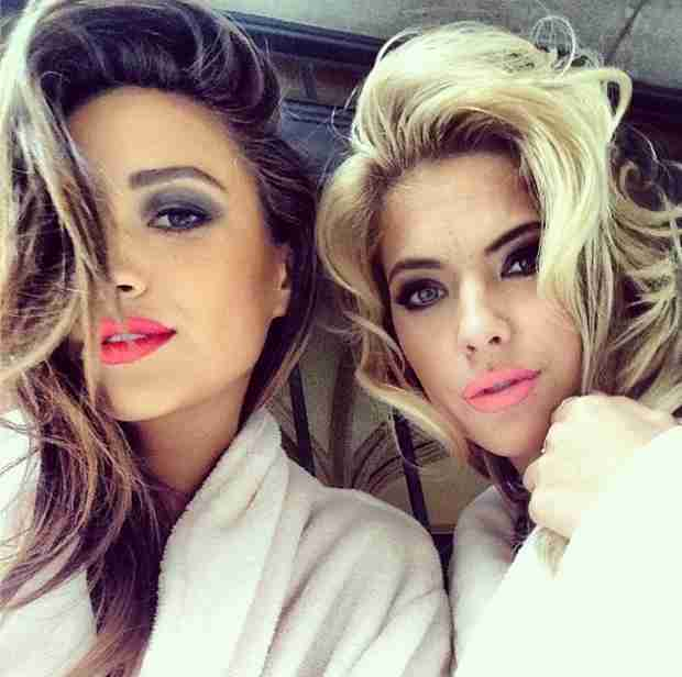 Ashley Benson and Shay Mitchell Pucker Up For Sexy Photoshoot (PHOTO)
