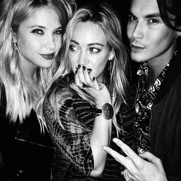 Hilary Duff Is an Honorary Pretty Little Liar With Ashley Benson and Tyler Blackburn! (PHOTO)