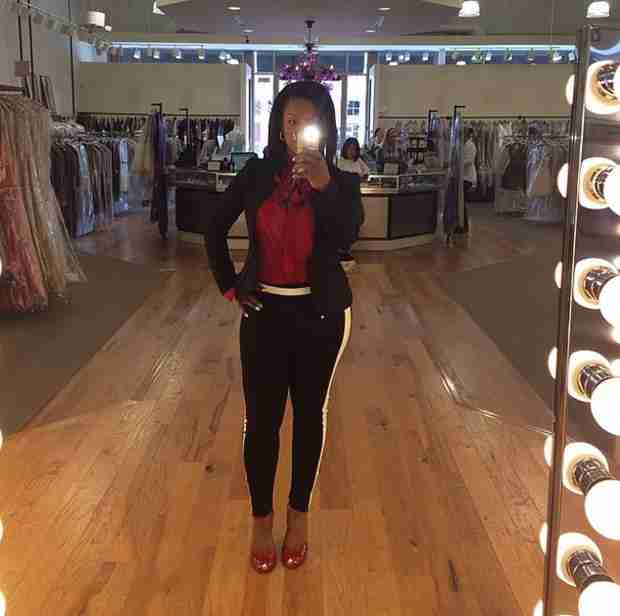 Kandi Burruss's Sexy Selfie — the Bride-to-Be Looks Better Than Ever! (PHOTO)