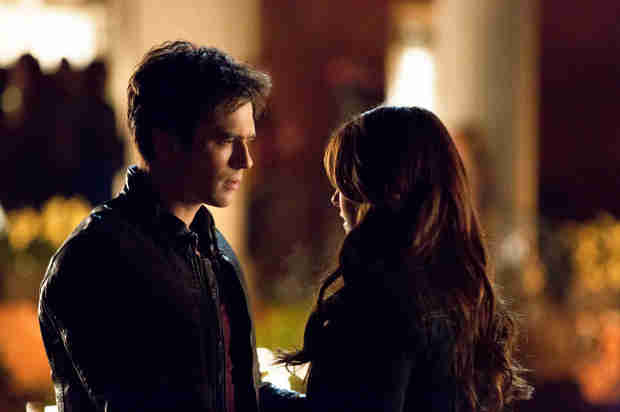 "Vampire Diaries Spoilers: ""Sexy Time"" For Damon and Elena in Episode 16"