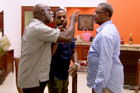 """Gregg Leakes and Peter Thomas Shake Hands After Mexico Feud: """"We're Friends"""" (VIDEO)"""