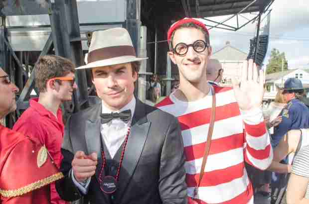 Vampire Diaries Star Ian Somerhalder Finds Waldo in New Orleans (PHOTO)