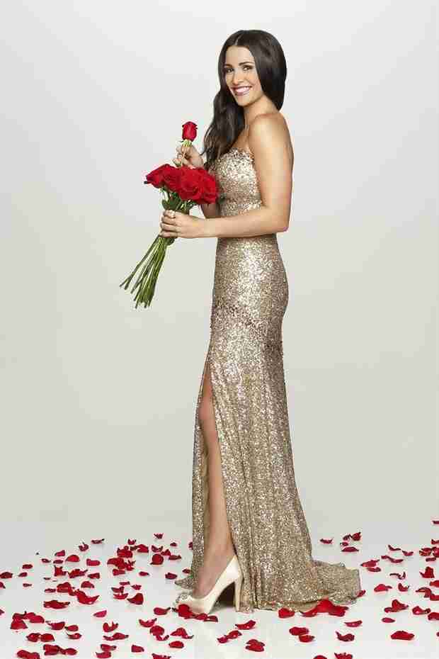 Andi Dorfman's First Official Bachelorette Picture: Glam or Prom?