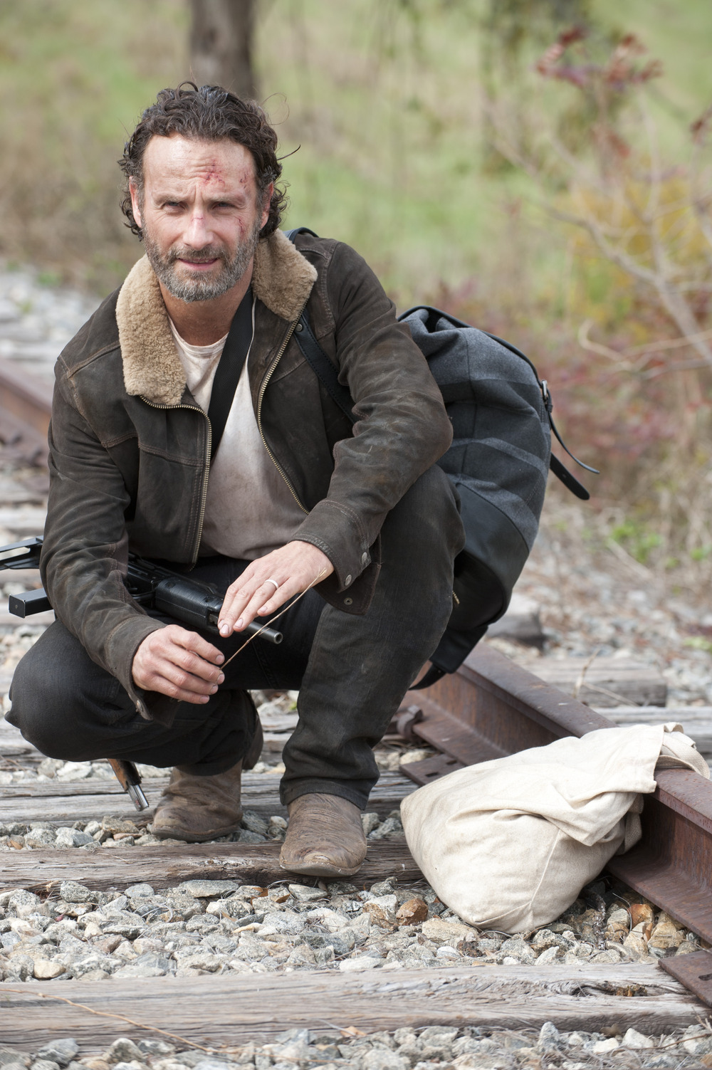 """Andrew Lincoln: The Walking Dead Season 4 Finale """"Irrevocably Changes"""" Rick Grimes"""