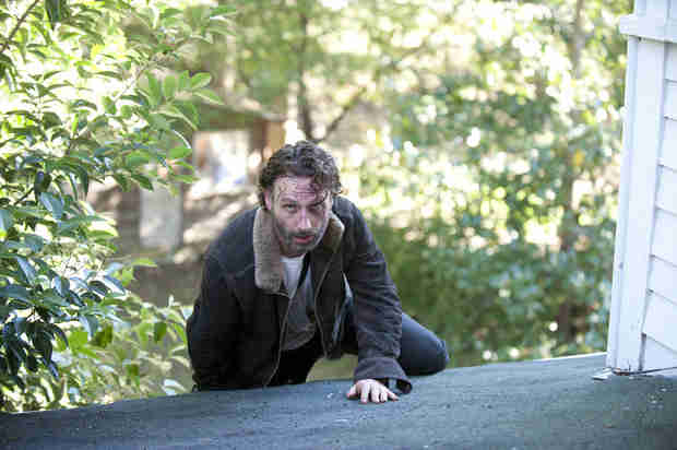 "The Walking Dead Season 4 Episode 15 Recap: Terminus! Gleggie Reunion! Rick Needs Saving After ""Us"""