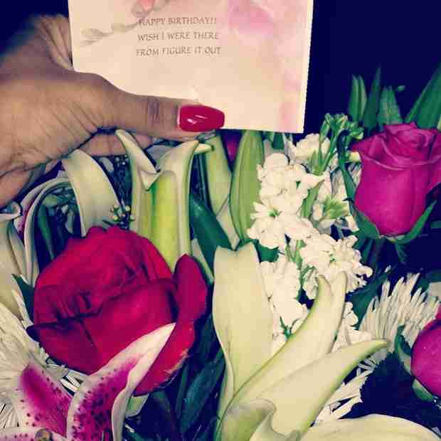 Bambi Gets Sweet Birthday Gift From Secret Admirer! (PHOTOS)