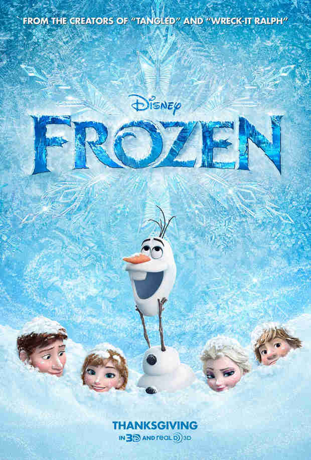 Disney's Frozen is The Number One Animated Film of All Time (VIDEO)