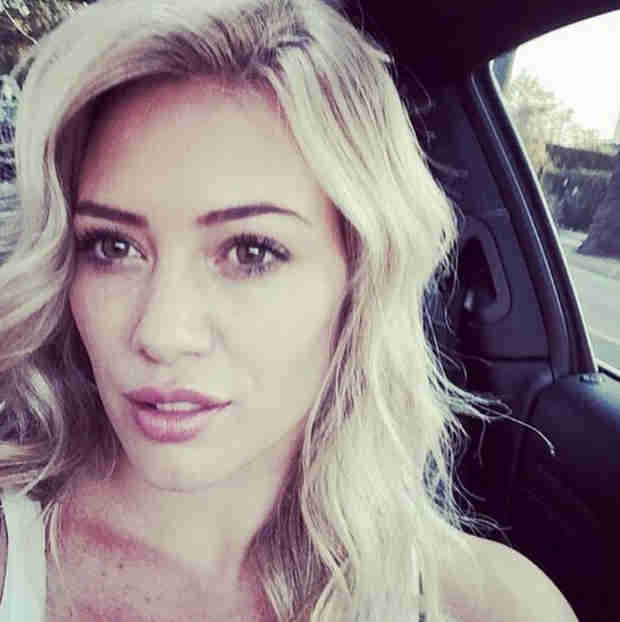 Newly Single Hilary Duff Goes Super Blonde — Love It or Leave It? (PHOTO)