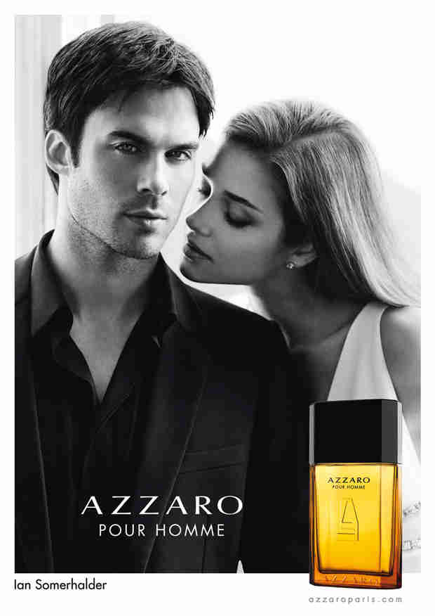 Ian Somerhalder Smolders in Sexy New Ad for Azzaro Pour Homme — Watch Now!
