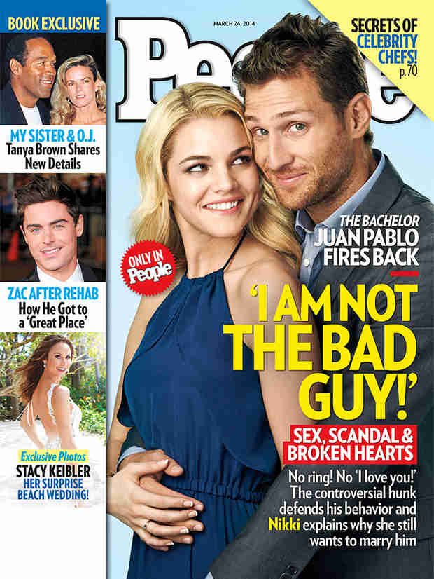 Juan Pablo Galavis Breaks Media Blackout for People Magazine Cover