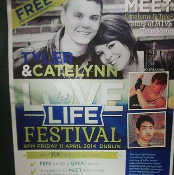 Why Are Catelynn Lowell and Tyler Baltierra Going to Ireland?
