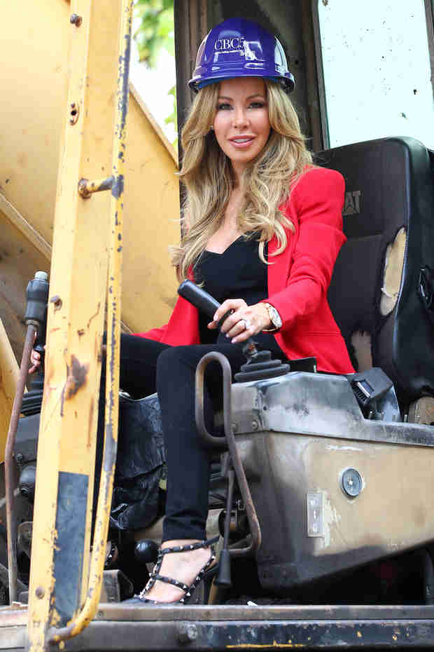 "Lisa Hochstein Begins Demolition on Star Island Mansion: ""I Can Do Anything in Heels"" (PHOTO)"