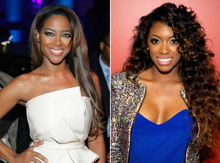 "RHoA Reunion Brawl Between Kenya Moore and Porsha Stewart Had ""Hair Pulling"" But No Injuries"