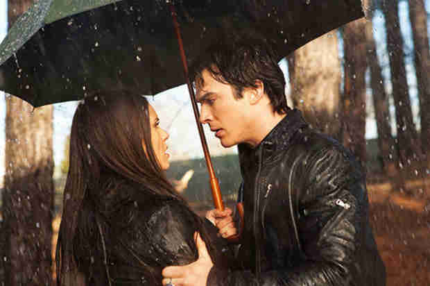 Nina Dobrev Reveals the Cold, Hard Truth About That Rainy Delena Scene