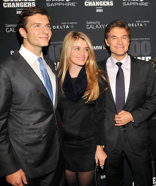 Dr. Oz's Granddaughter Has a Name — And the Best Initials Ever!