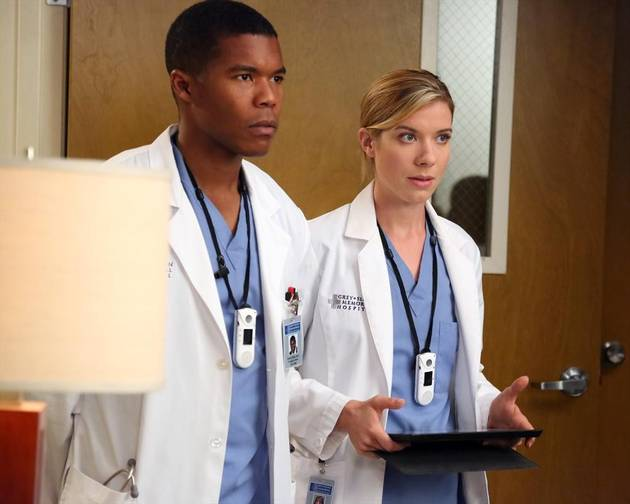 Gaius Charles and Tessa Ferrer Exiting Grey's Anatomy — Bye, Shane and Leah!