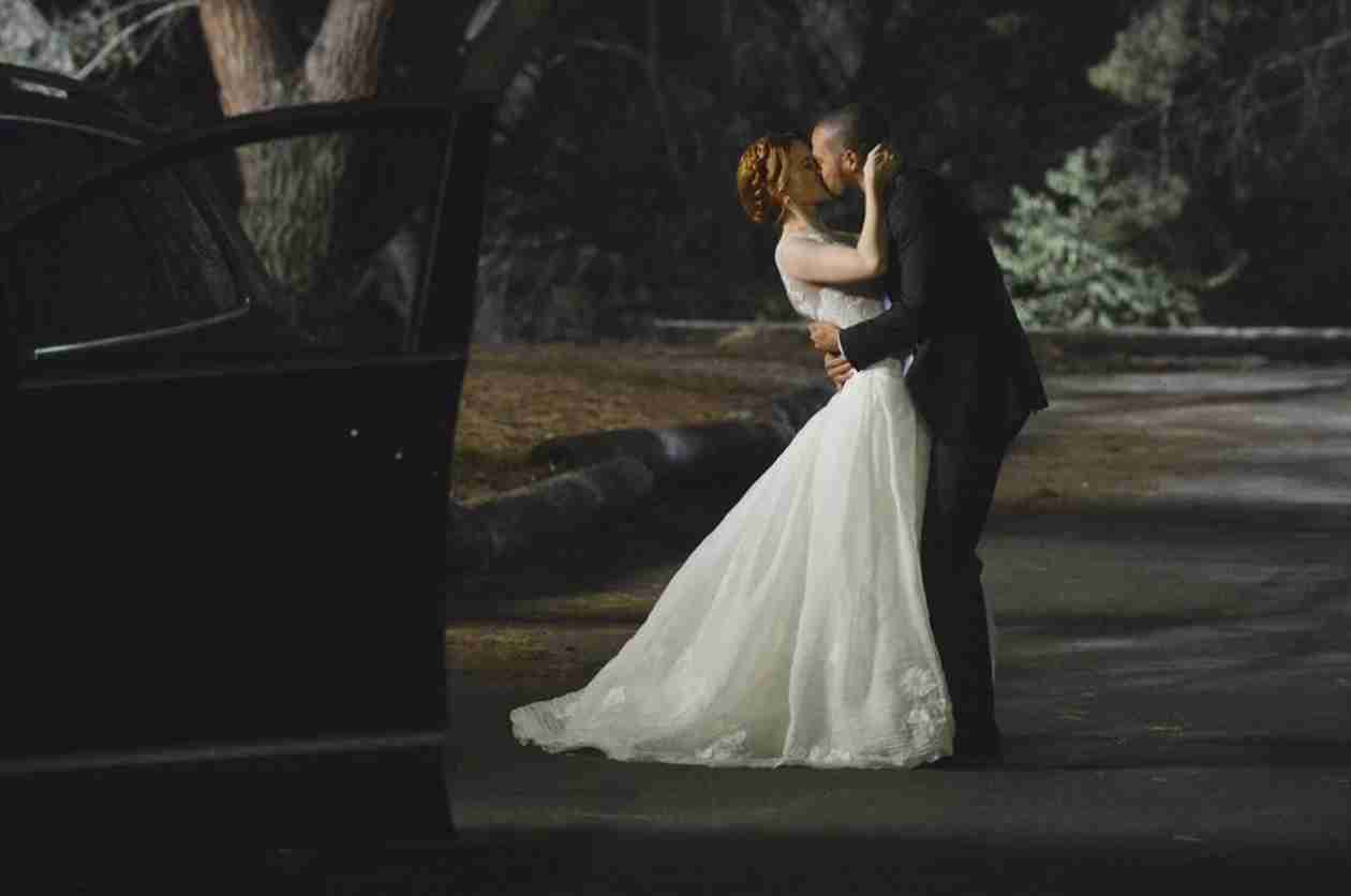 Grey S Anatomy The Jackson And April Wedding Photo Album