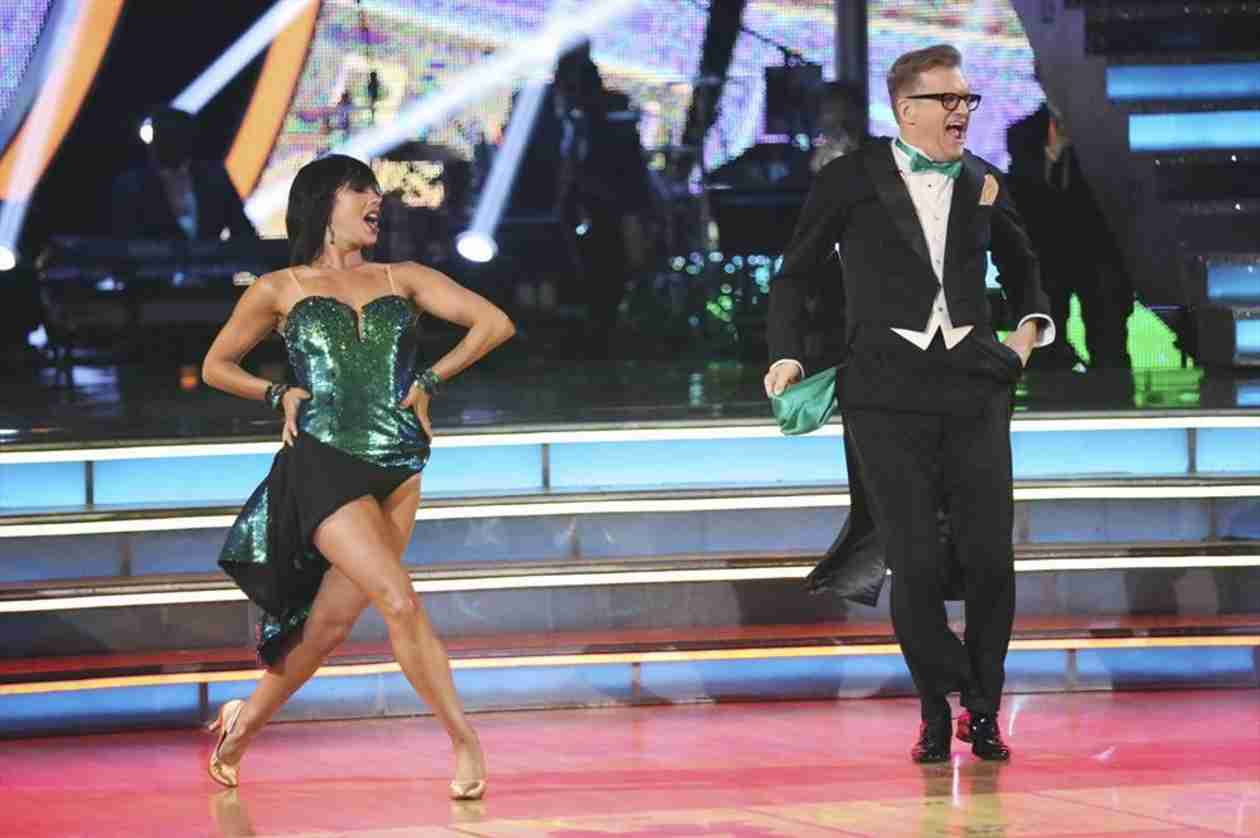 Dancing With the Stars 2014: Drew Carey and Cheryl Burke's Week 2 Jive (VIDEO)