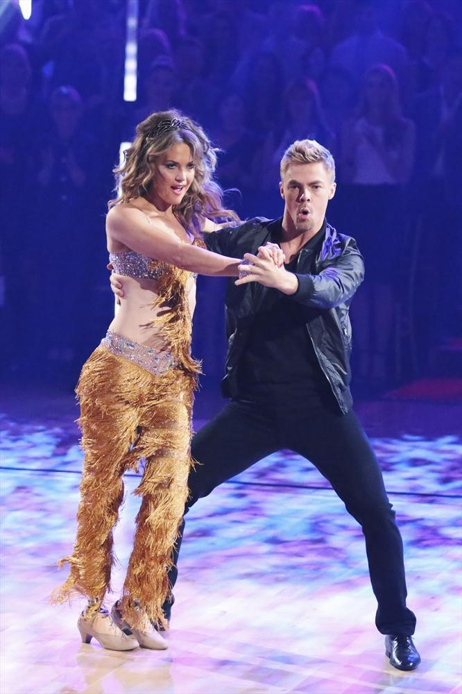 Dancing With the Stars 2014: Amy Purdy and Derek Hough's Week 2 Swing (VIDEO)