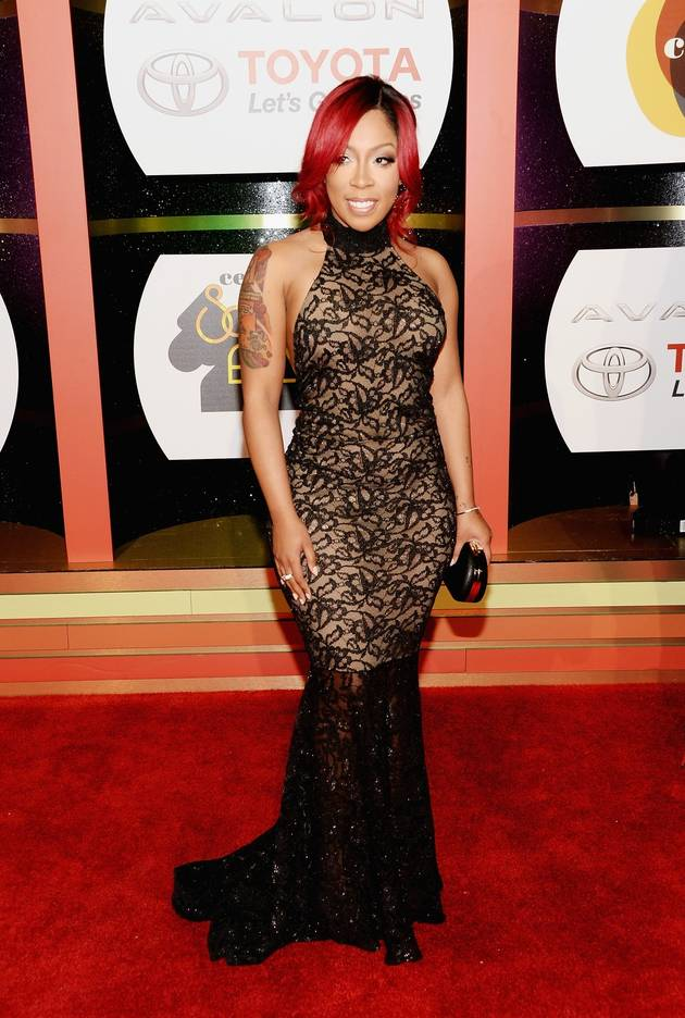 K. Michelle Takes Topless Selfie For Her 30th Birthday! (PHOTO)