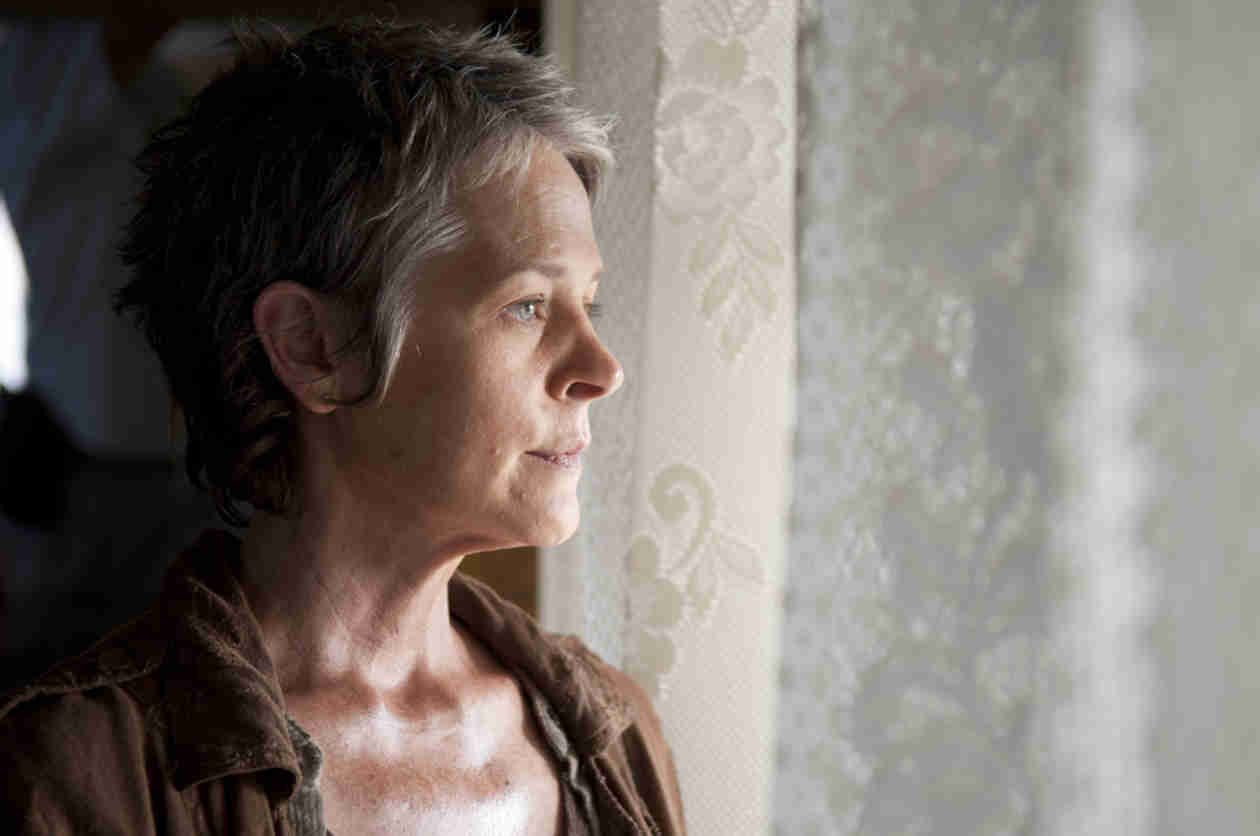 "The Walking Dead Season 4 Episode 14 Recap: Lizzie Loses Her Mind, Carol Loses Everything in ""The Grove"""