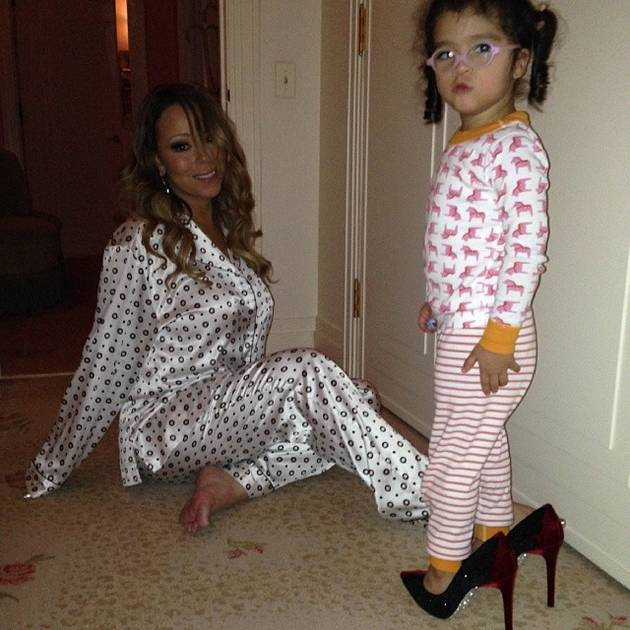 Mariah Carey's Daughter Monroe Hits the Recording Studio! (PHOTO)