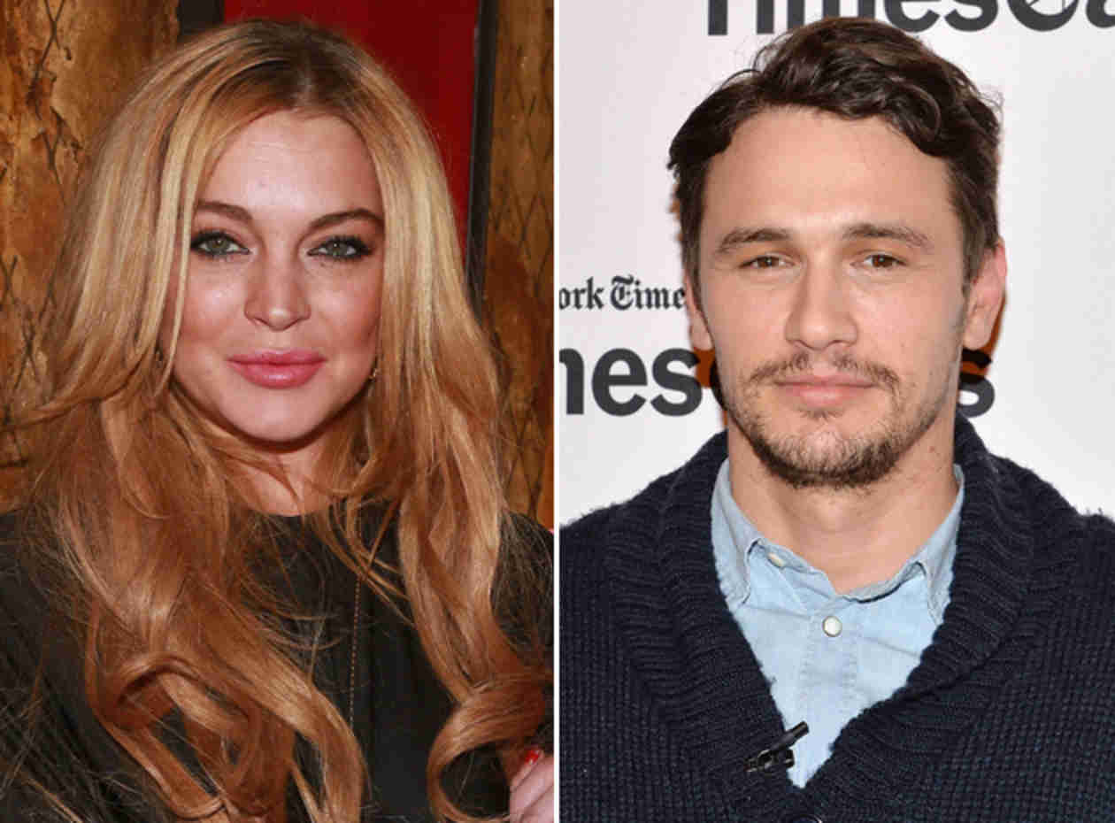 "James Franco Denies Sleeping With Lindsay Lohan: ""She's Told Lies About Me!"" (VIDEO)"