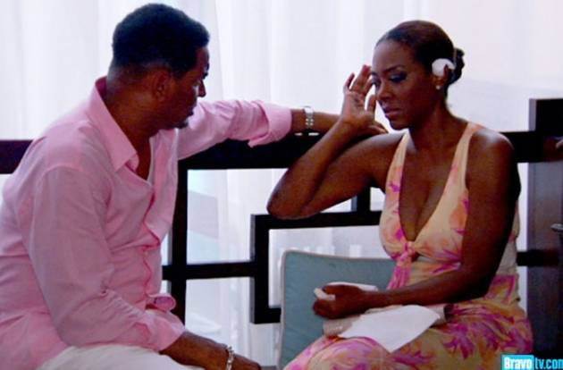 "Kenya Moore's Ex Walter Jackson Claims She's Lying About Her ""African Prince"""