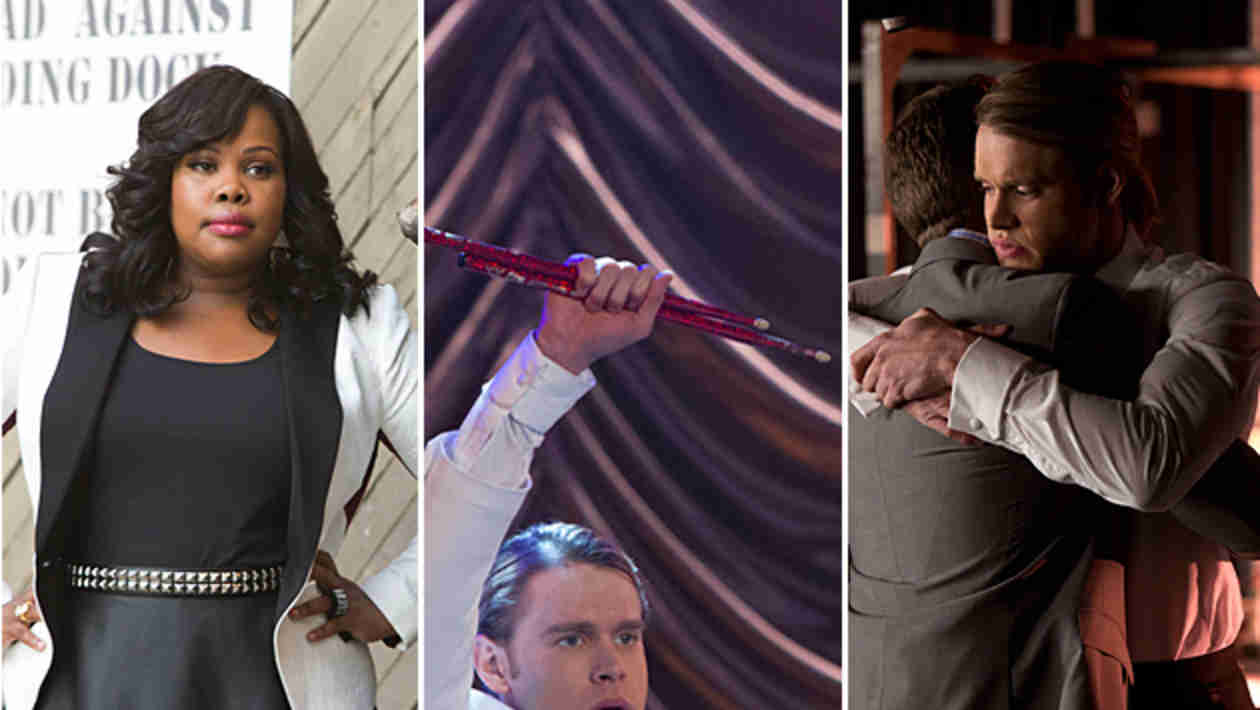 "Watch All the Performances: Glee's Nationals Tribute to Finn in ""City of Angels"" (VIDEOS)"