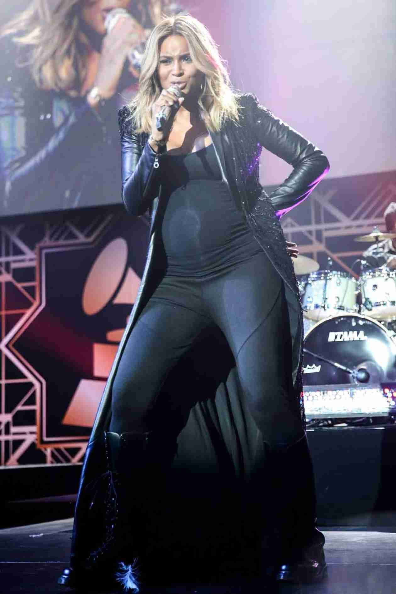 Pregnant Ciara Busts a Move — Look at Her Baby Bump Go! (VIDEO)