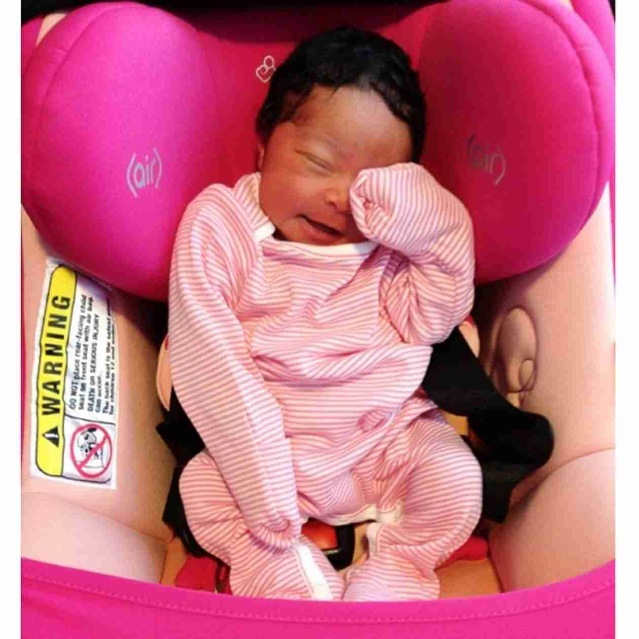 Monica Shares Flashback Photos of Daughter Laiyah As a Newborn! (PHOTOS)
