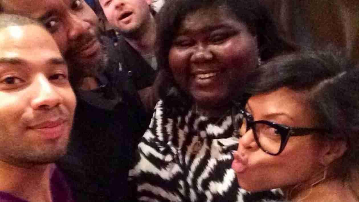 """Taraji P. Henson, Gabourey Sidibe, and Terrence Howard Get Ready For """"Empire"""" (PHOTOS)"""