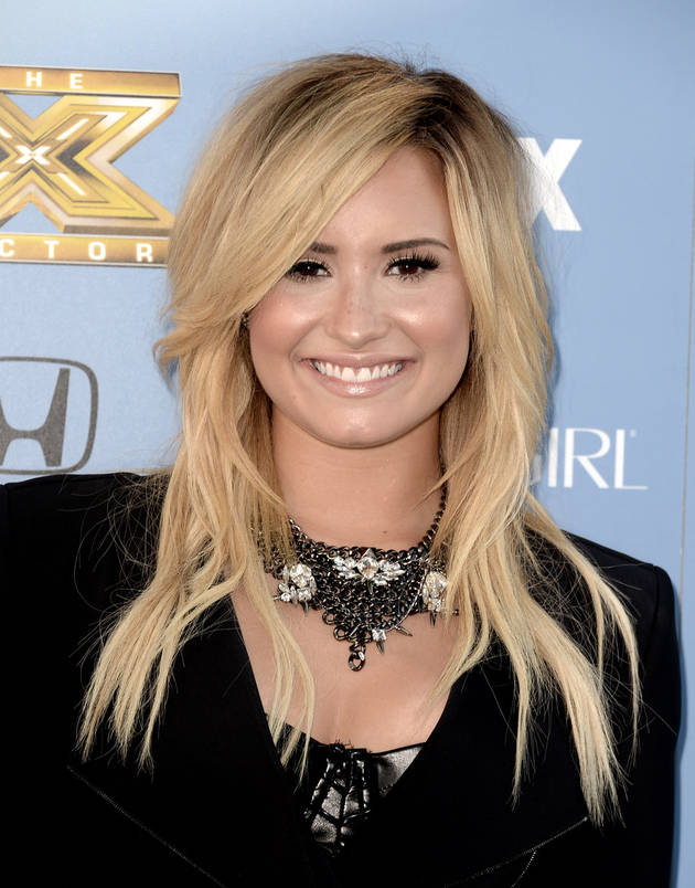 What Color Is Glee Guest Star Demi Lovato's Hair?