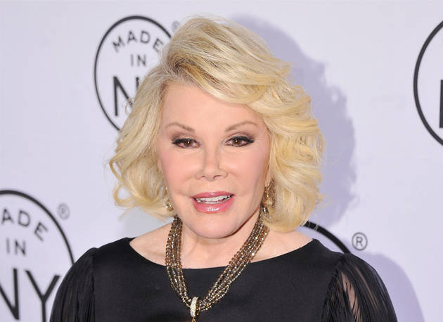 How Much Is Legendary Comedian Joan Rivers Worth?