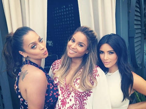 Pregnant Ciara's Baby Shower — See Photos With La La Anthony, Kim Kardashian