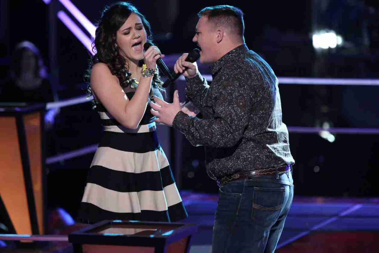 Jake Worthington vs Lexi Luca on The Voice 2014 Season 6 Battle Rounds (VIDEO)