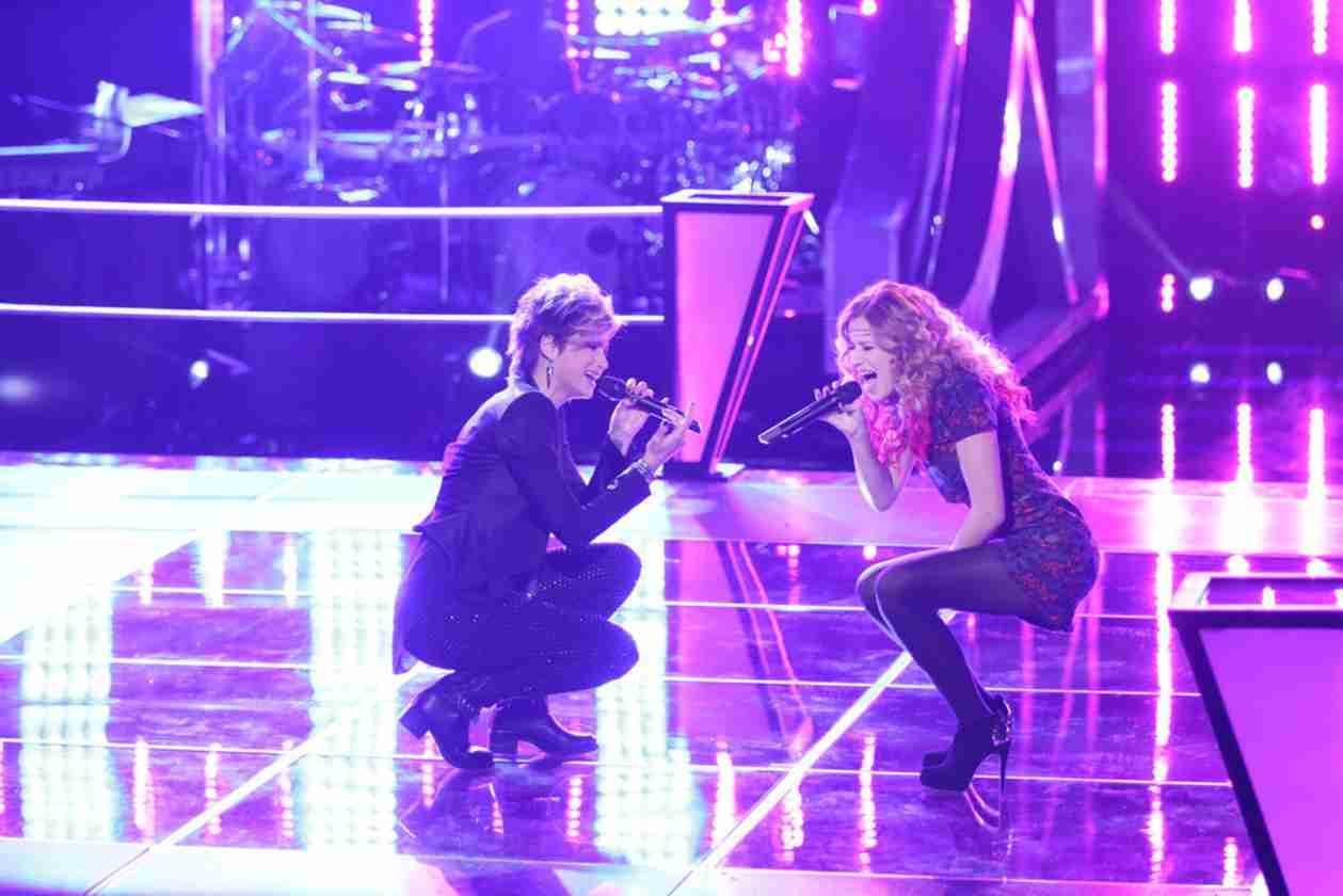 Watch Megan Rüger vs Ria Eaton on The Voice 2014 Season 6 Battle Rounds (VIDEO)
