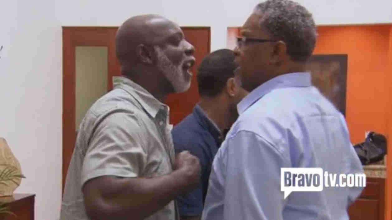 Why Did Gregg Leakes Threaten Peter Thomas's Life? NeNe Shares the Details (VIDEO)