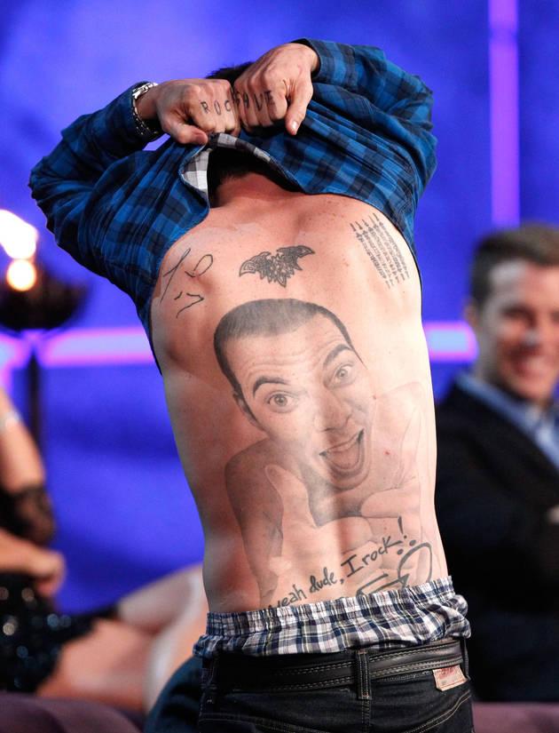 Steve O Tattoo: Crazy Tattoos Of Celebrities